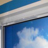 Типы вентиляционных клапанов для пластиковых окон
