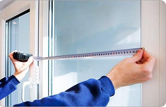 Как замерить пластиковое окно
