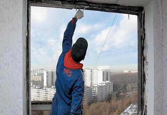 Демонтаж стеклопакета своими руками
